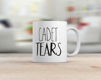 Funny teacher gift etsy funny teacher mug military school cadet tears student tears gifts under 15 negle Choice Image