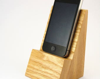 Support - Dock for iPhone 5 ash solid natural color