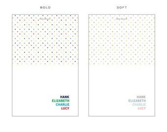 Custom/Personalized Folded Notecards