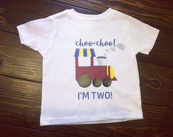Choo Choo I'm Two