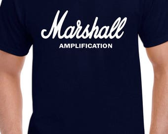 Marshall Amplfications Guitar Tee Size:S-2XL