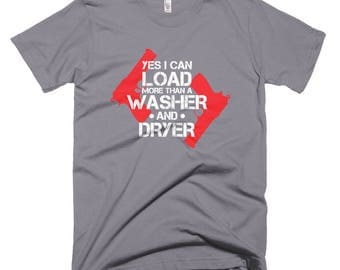 Washer & Dryer Short-Sleeve T-Shirt