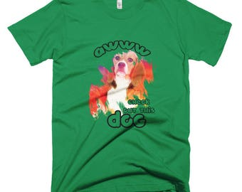 Awww check out this dog 01-1 Short-Sleeve T-Shirt
