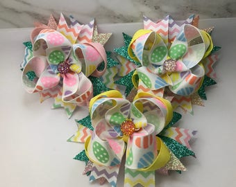 Spiked Easter Bows