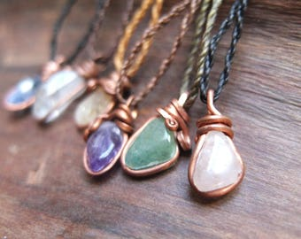 Healing stone Necklace (copper)
