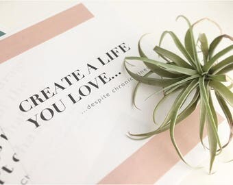 Create a Life You Love - Art Print