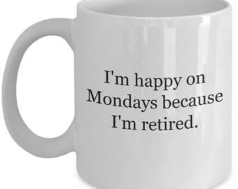 retirement gifts, retired husband,retired gift,retirement,retirement gift,retired cop,retired police,retired teacher,retired coffee mug