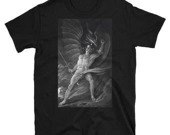 Satan the Rebel ArchAngel Paradise Lost T-Shirt