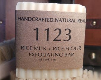 Rice Milk + Rice Flour Exfoliating Bar