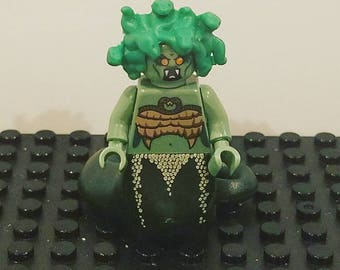 MEDUSA LeGo Princess Minifigure Toy  Popular Characters for Boys Girls Gift Collectors Item Favor Marvel DC Superhero Princess