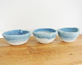 Minies - mini rope bowls, set of 3 - Second