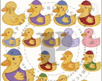 Rubber Duckie Mini Collection 1
