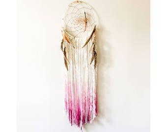Medium Petal Pink Dreamcatcher