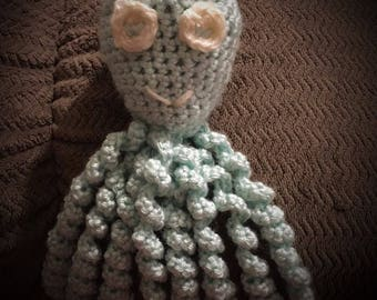 Crochet preemie octopus