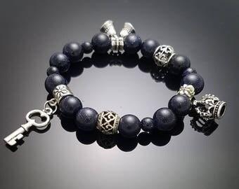 need key Bracelet#2 goldstone