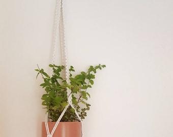 Macrame plant hanger handmade pot hanger boho gift