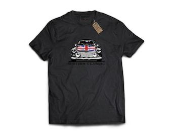 British Classic - Porsche, Sports Car T-Shirt, Classic Car, Gift For Car Lover, Honda, Nissan, Toyota, VW, Audi, Mazda, BMW, Mini Cooper