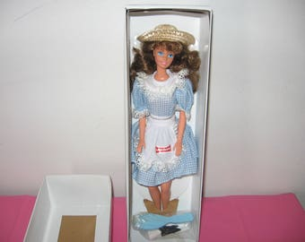 1992 Little Debbie Barbie Doll Collector's Edition NRFB - Little Debbie Barbie New In Box With Original Accessories - 1990s Barbies