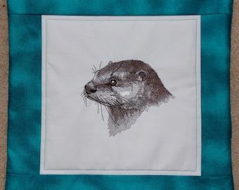 Otter Head Cushion Cover
