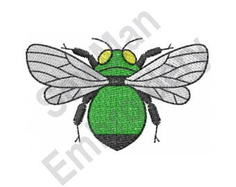 Insect - Machine Embroidery Design, Bug, Fly