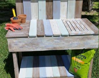 Potting Table, Potting Workbench, Planters Table, Garden Table, Garden  Workbench, Crafters