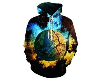 Galaxy Hoodie, Galaxy Sweatshirt, Galaxy, Galaxy Jumper, Galaxy Hoodies, Space, Space Hoodie, 3d Hoodie, 3d Hoodies, Hoodie - Style 41