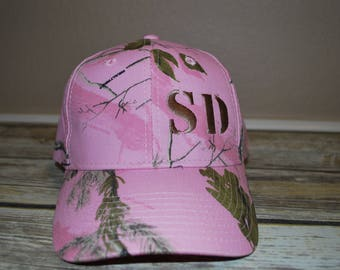 Embroidered Caps,  Ladies's caps,   Ladies Camo caps, Custom gifts,  Personalised caps,  Embroidered gifts,  Monogramed caps,  Baseball caps