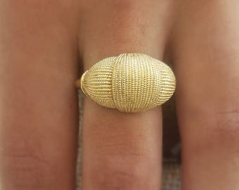 ALMOST GONE!!  Knot Of Gold Ring