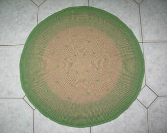 Eco-mat made of jute fiber