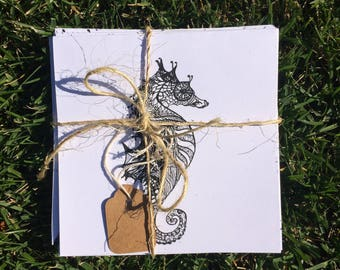 Pen and Ink Cards