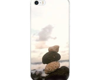 Stacked Rocks/ By the sea/ Natural Phone Case/ iPhone 5 case/ iPhone Case 6, 7 , 8, 8 plus/Accessories Case/be a unicorn