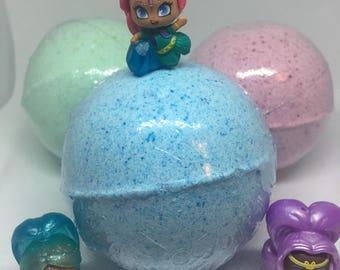8 oz Surprise Inside Teenie Genie Inspired Bath Bomb