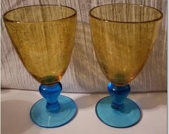 Wine Goblets, Set of 2