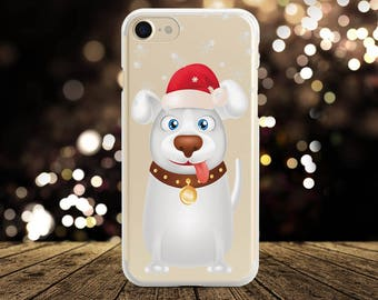 Christmas iPhone 7 Case iPhone X Case Christmas dogs iPhone 8 Case Silicone Case iPhone 7 Plus Case iPhone 8 Plus Case Samsung S8 S7 Case