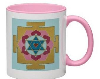 Love Yantra Mug