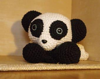 Crochet Panda Doll