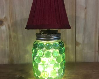 Battery Operated Crystal Lamp