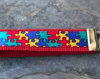 Autism Awareness Key Fob
