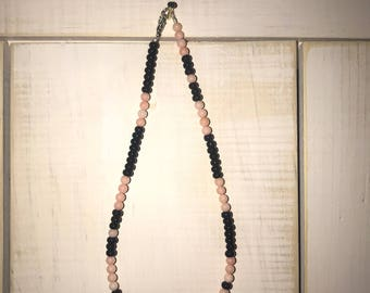 Black and Pink choker