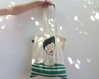 "Art Tote Bag ""Mourners, 1"""