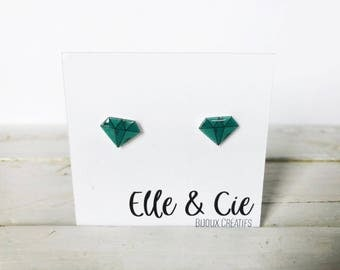 Diamond, Diamond Earrings earrings