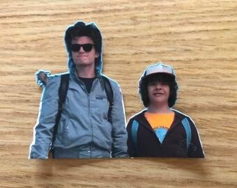 Stranger Things Steve and Dustin Sticker
