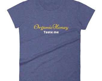 Organic Honey Tshirt Women's short sleeve t-shirt