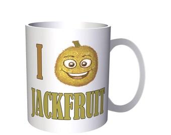 I Love Jackfruit Fresh Fruit Vegetable 11oz Mug a325