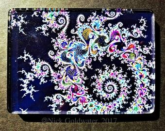 QuantileDesigns Acrylic 'frameless' fractal art.