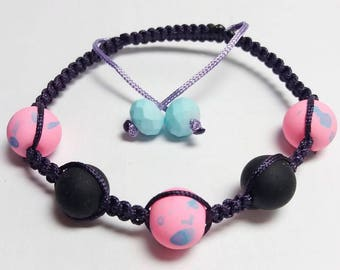 "Bracelet Shamballa ""Bean"""