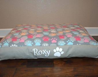 "36"" Personalized Pet Floor Bed"