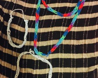 Random Pack of Finger Knitted Scarves