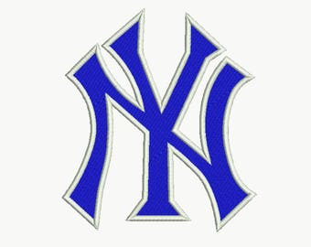 New York Embroidery design 9 Size INSTANT download machine embroidery