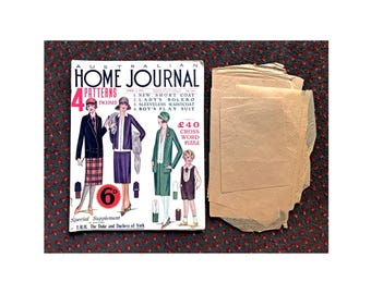 Australian Home Journal April 1, 1927 includes Dress Making Pattern